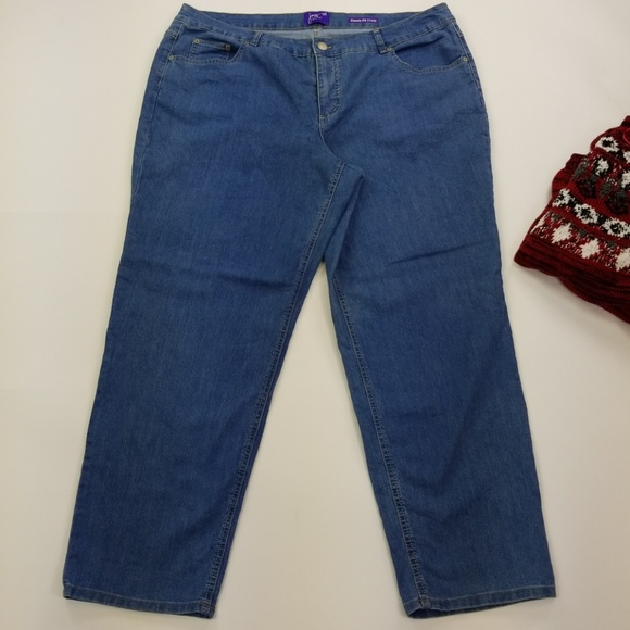86cabcd4e5c Just My Size Denim - Just my size classic fit denim spandex 24W cotton